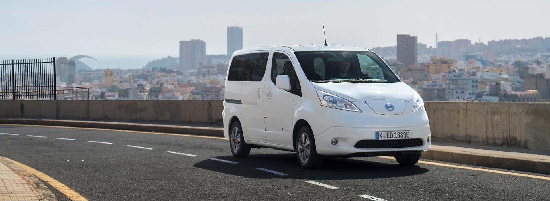 Nissan personenauto's-E-NV200 Evalia-banner