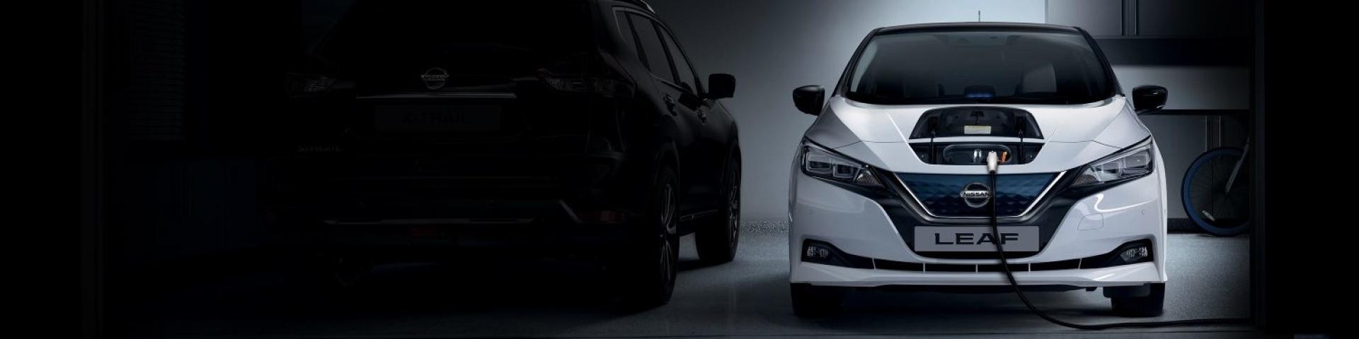 Nissan personenauto's-Leaf-banner