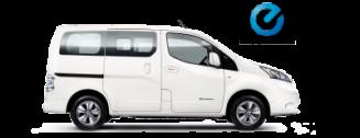 Nissan personenauto's-E-NV200 Evalia